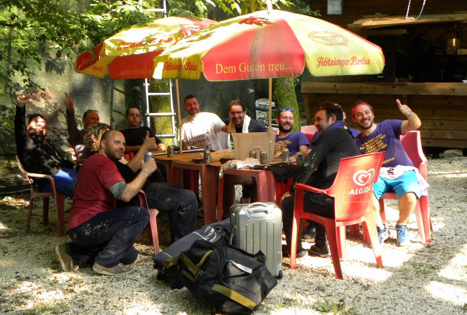Garda Paintball Area Relax